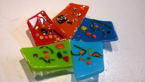 Fused Glass Display