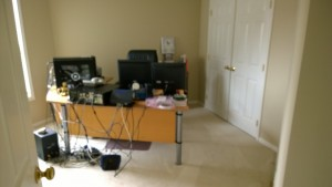 2nd Bedroom converted to server area for BBS