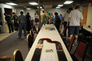 First Faith Church Game Night June 29 2013 - Let the games begin!